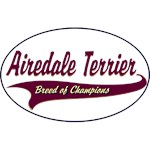Airedale Terrier T-Shirt Breed of Champions
