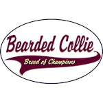 Bearded Collie T-Shirt Breed of Champions