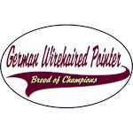 German Wirehaired Pointer T-Shirt Breed of Champions