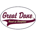 Great Dane T-Shirt Breed of Champions