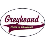 Greyhound T-Shirt Breed of Champions