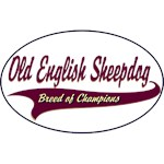 Old English Sheepdog T-Shirt Breed of Champions