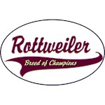 Rottweiler T-Shirt Breed of Champions
