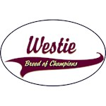 Westie T-Shirt Breed of Champions