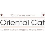 Oriental Cat T-Shirt - Other Angels