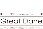 Great Dane T-Shirt Other Angels