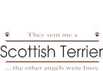 Scottish Terrier T-Shirt Other Angels
