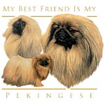Pekingese T-Shirt My Best Friend Is
