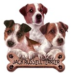 Jack Russell Terrier T-Shirt Trio