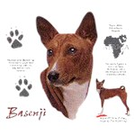 Basenji T-Shirt History Collection