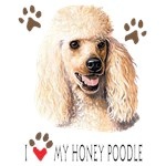 Poodle T-Shirt I Love My