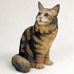 Maine Coon Cat Figurine