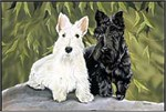 Scottish Terrier Floor Mat