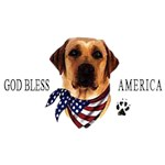 Yellow Lab T-Shirt American Dog