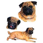 Pug T-Shirt Collage