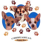 Chihuahua T-Shirt Puppies and Paws