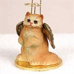 Persian Cat Christmas Ornament