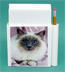 Birman Cat Hold-a-Note