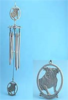 Bulldog Windchime
