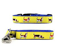 Basset Hound Collar & Leash