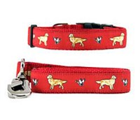 10488 Collar &amp; Leash: Golden Retriever