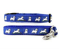 Westie Collar & Leash
