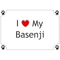 Basenji T-Shirt - I love my