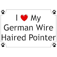 German Wirehaired Pointer T-Shirt - I love my