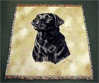 Black Lab Blanket