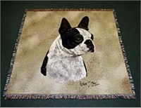 Boston Terrier Blanket