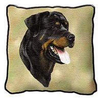10919 Pillow: Rottweiler