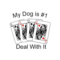 Dog T-Shirt - #1. Deal With It