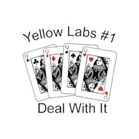 Yellow Lab T-Shirt - #1 Deal With It