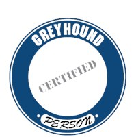 Greyhound T-Shirt - Certified Person