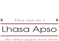 Lhasa Apso T-Shirt - Other Angels