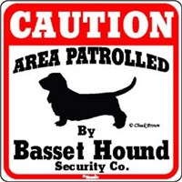 Basset Hound Sign
