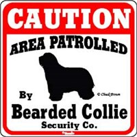 Bearded Collie Sign