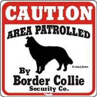 Border Collie Sign