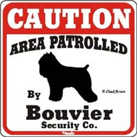 Bouvier des Flandres Sign