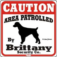 Brittany Caution Sign