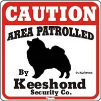 Keeshond Sign