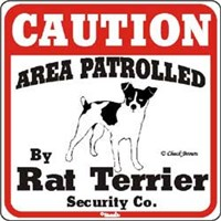 Rat Terrier Sign