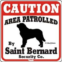 12371 Saint Bernard Sign