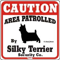 Silky Terrier Sign