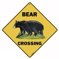 Black Bear Sign