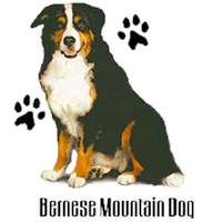 Bernese Mountain Dog T-Shirt - Styling With Paws