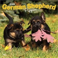 12846 2012 German Shepherd Puppies Calendar