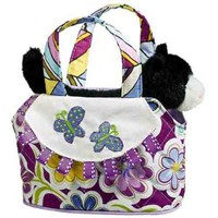 Black & White Cat Purse (12878) photo