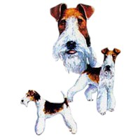 2220 Wire Fox Terrier Shirts