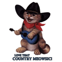 Shirts: Cat - Country Meowsic
